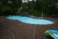 Atlantic Fiberglass Pool in San Antonio, TX